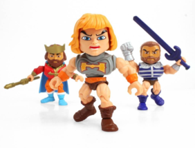 THE LOYAL SUBJECTS Masters of the Universe W2 Action Vinyls Window Box