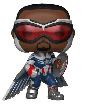 The Falcon and the Winter Soldier - Captain America Pose US Exclusive Pop! Vinyl [RS]
