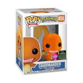 Pokemon - Charmander Flocked ECCC 2020 Exclusive Pop! Vinyl