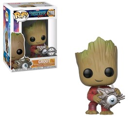 Guardians of the Galaxy: Vol. 2 - Groot with Cyber Eye US Exclusive Pop! Vinyl