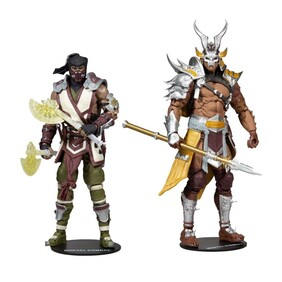 "Mortal Kombat - Sub-Zero vs Shao Khan 7"" Action Figure 2-pack"
