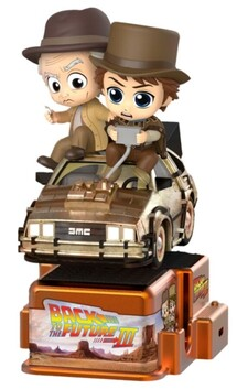Back to the Future Part III - Marty McFly & Doc Brown Cosrider