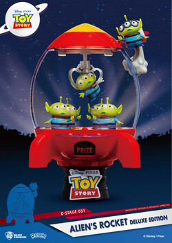 D Select Toy Story Aliens Rocket Deluxe Edition