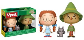 Wizard of Oz - Dorothy & Scarecrow Vynl.