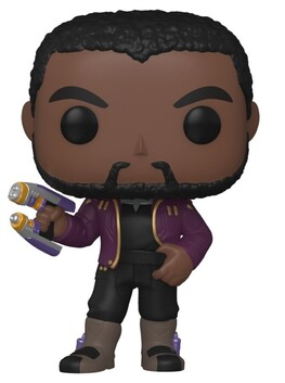 What If - T'Challa Star-Lord Unmasked US Exclusive Pop! Vinyl [RS]