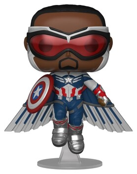 The Falcon and the Winter Soldier - Captain America Flying US Exclusive Pop! Vinyl [RS]