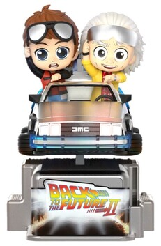 Back to the Future Part II - Marty McFly & Doc Brown Cosrider